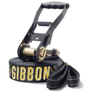 Slackline Gibbon -schwarz-