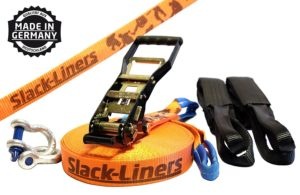 Slackline Set in Orange